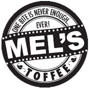 logo for Mel's Toffee